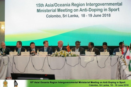 15th Asia/Oceania Intergovernmental Ministerial Meeting on Anti-Doping in Sport
