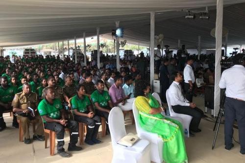 1990 Ambulance Launch in Jaffna 2018