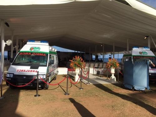 1990 Emergency Ambulance Launch